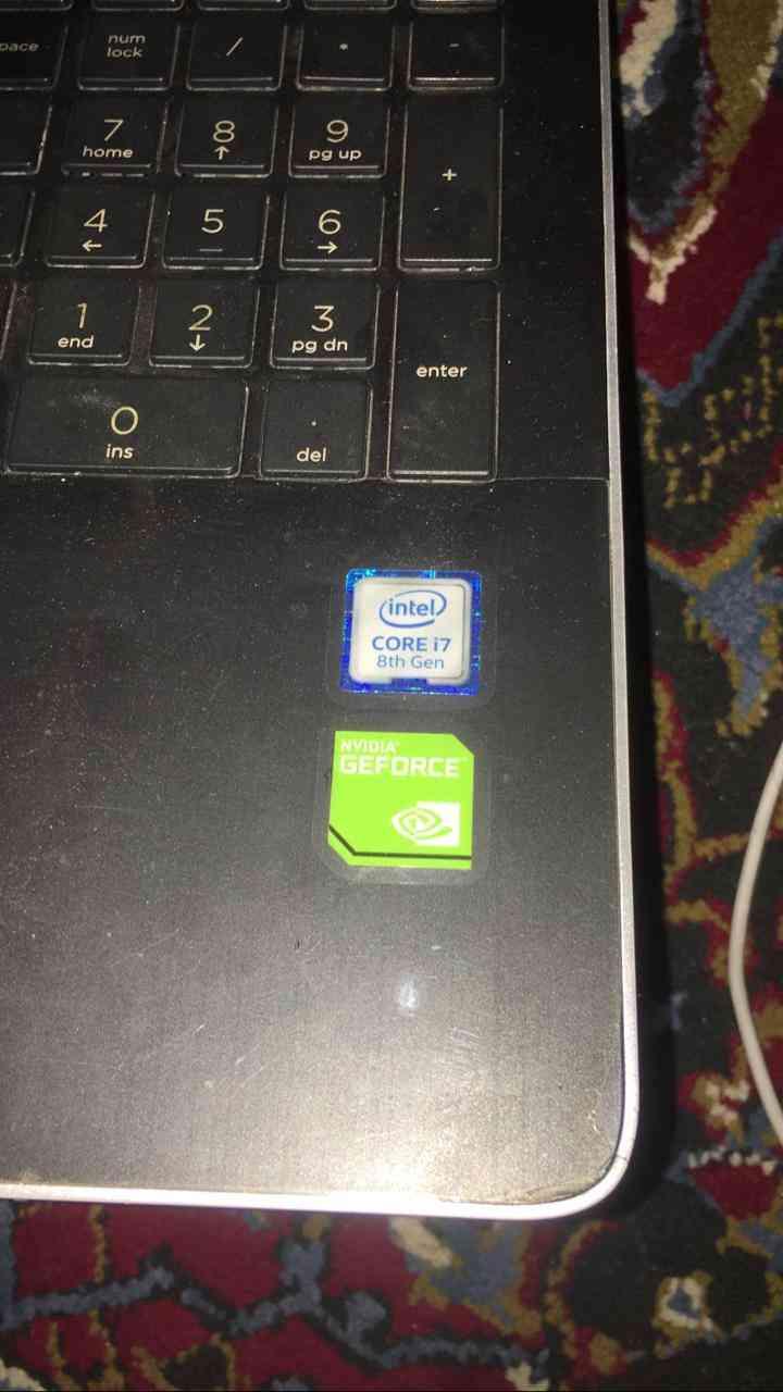 laptop core i7 8th generation.